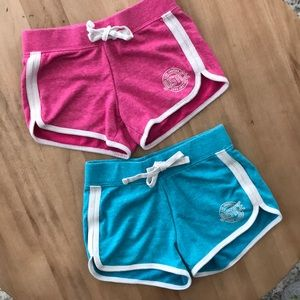 Two Pairs of Justice Girls Shorts